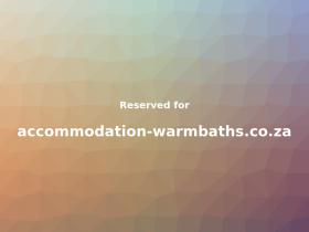 accommodation-warmbaths.co.za