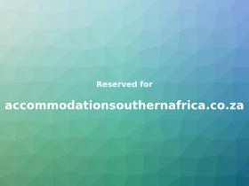 accommodationsouthernafrica.co.za