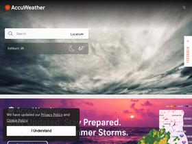 Accuweather com Analytics - Market Share Stats & Traffic Ranking