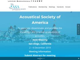 acousticalsociety.org