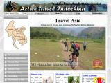 activetravelindochina.com