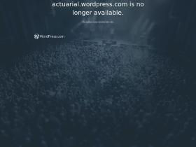 actuarial.wordpress.com