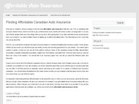 affordableautoinsurance.ca