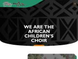 africanchildrenschoir.com
