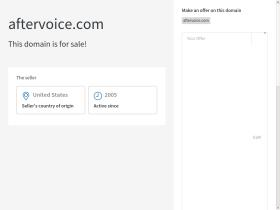 aftervoice.com