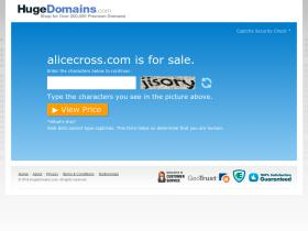 alicecross.com