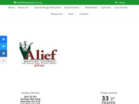 aliefbaptistchurch.org