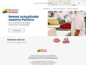 alimentoscarnicos.com.co