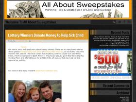 allaboutsweepstakes.com