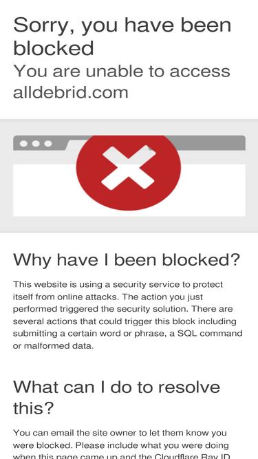 Alldebrid com Analytics - Market Share Stats & Traffic Ranking
