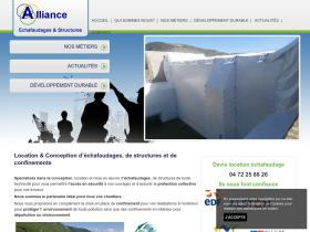 alliance-echafaudages-structures.fr