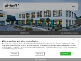 althoff-industriebau.de