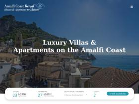 amalficoastrental.com