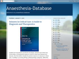 anaesthesia-database.blogspot.com