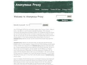 anonymousproxy.co.in