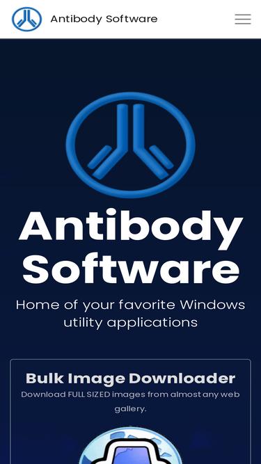 Antibody-software com Analytics - Market Share Stats