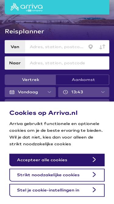 arriva.nl analytics - market share stats & traffic ranking