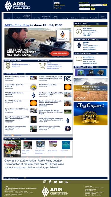 Arrl org Analytics - Market Share Stats & Traffic Ranking