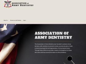 associationofarmydentistry.org