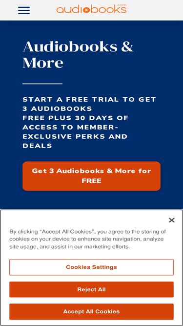 Audiobooks com Analytics - Market Share Stats & Traffic Ranking