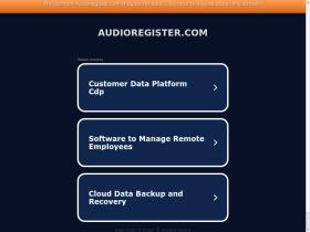 audioregister.com