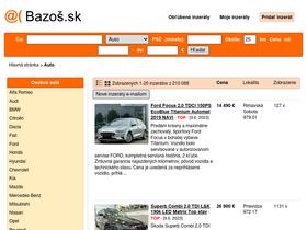 ce4fbba53 Auto.bazos.sk Analytics - Market Share Stats & Traffic Ranking