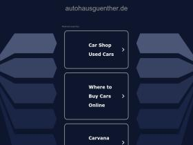 autohausguenther.de