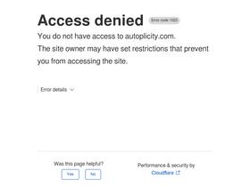 Autoplicity com Analytics - Market Share Stats & Traffic Ranking