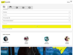 autoscout24.fr Analytics Stats