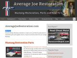 averagejoerestoration.com