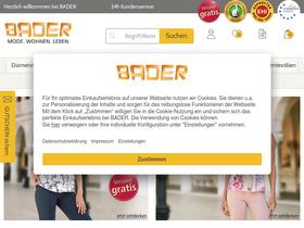 bader versand online shop deutschland