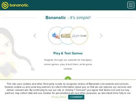 Bananatic com Analytics - Market Share Stats & Traffic Ranking