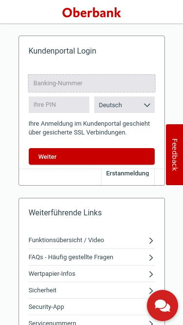 Banking Oberbank At Analytics Market Share Stats Traffic Ranking