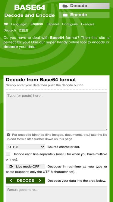 Base64decode org Analytics - Market Share Stats & Traffic Ranking