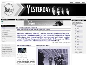 beatles-yesterday.com