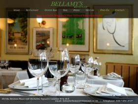 bellamysrestaurant.co.uk