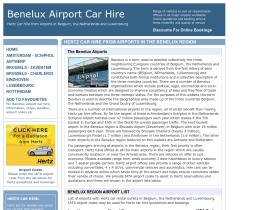 benelux-airport-car-hire.co.uk