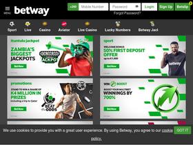Betway co zm Analytics - Market Share Stats & Traffic Ranking