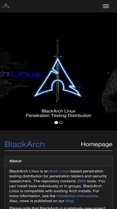 Blackarch org Analytics - Market Share Stats & Traffic Ranking