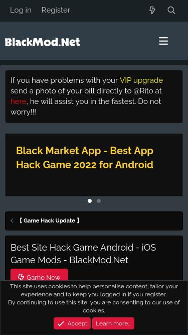 Blackmod app