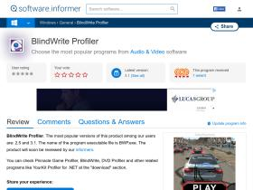 blindwrite-profiler.software.informer.com