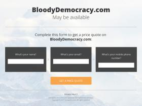 bloodydemocracy.com