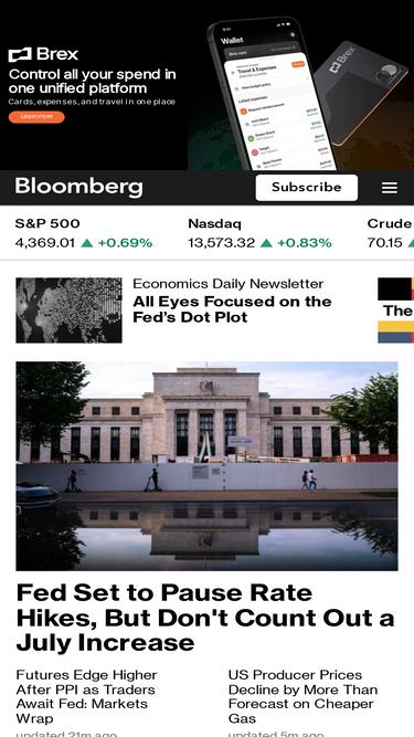 Bloomberg com Analytics - Market Share Stats & Traffic Ranking