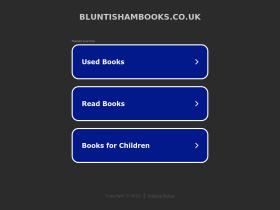 bluntishambooks.co.uk