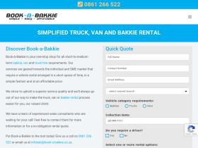 book-a-bakkie.co.za