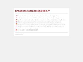 broadcast.comediegallien.fr