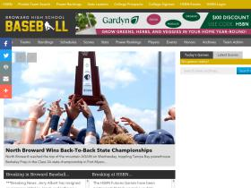 browardhighschoolbaseball.com