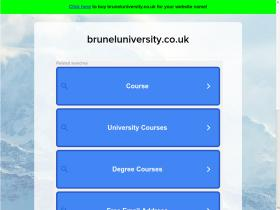 bruneluniversity.co.uk