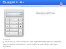 calculatriceenligne.fr