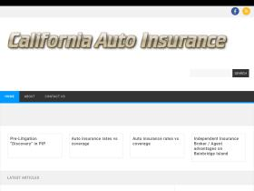 californiaautoinsurance.in